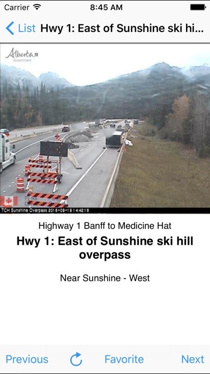 MultiCam Alberta Highway