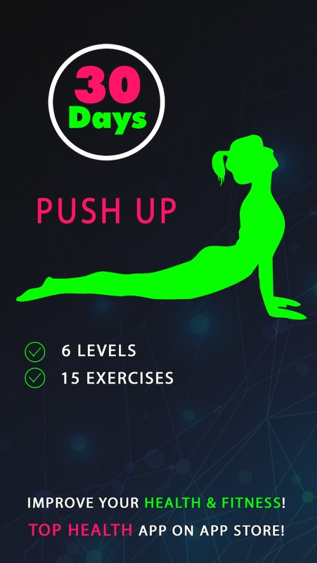 30 Day Push Up Fitness Challenges ~ Daily Workout - Online