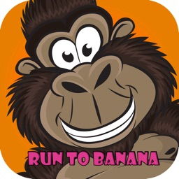 monkey speed to fast  eat banana in jungle