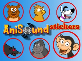 Anisound Stickers is based on the popular children's app, Anisound