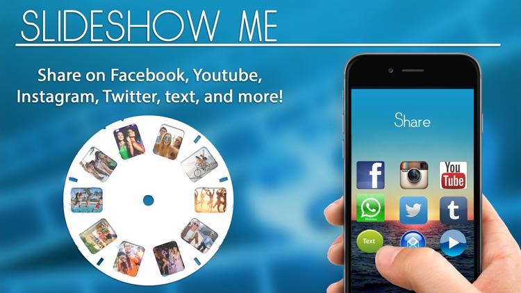 Slideshow Me- Slide Show Maker screenshot-3