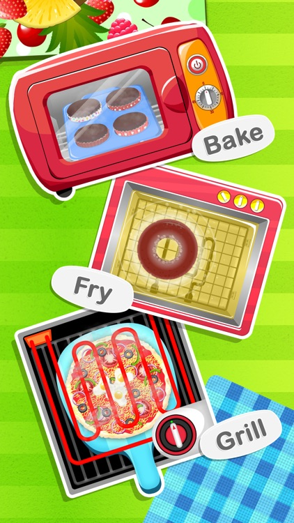 Junior Chef's Cafe - Cooking & Baking Games