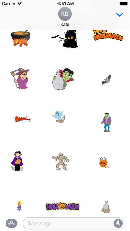 HD Halloween Stickers