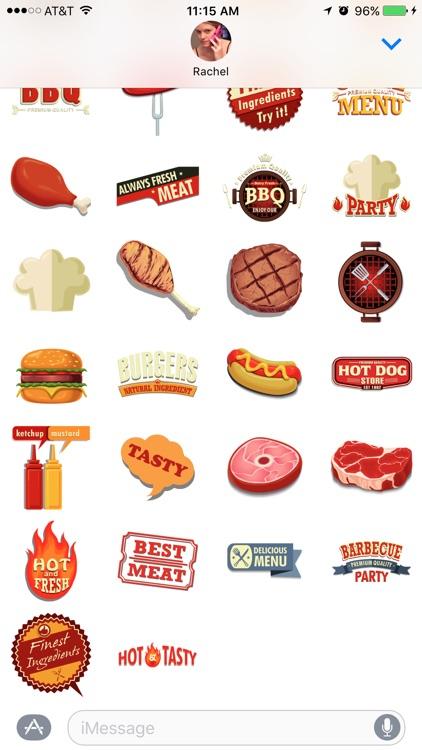 BBQ Stickers