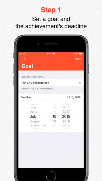 Goal Publisher - publish goals screenshot two
