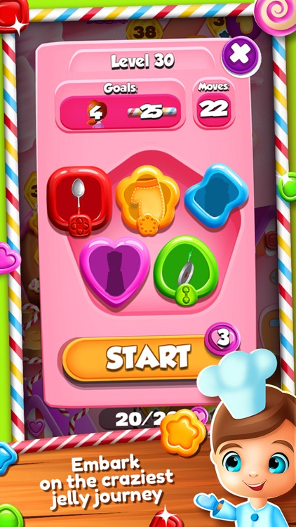 Sweet Jelly Match 3 Games – Crush Color.ed Candy in the Jam Blast.ing Quest With Cookie.s screenshot-4