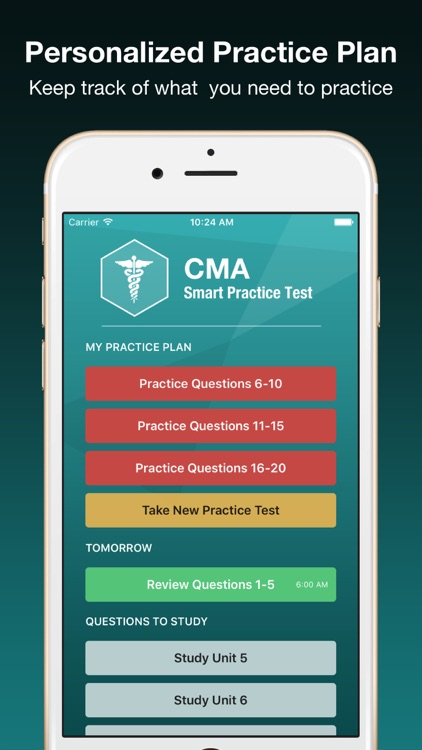 CMA Smart Exam Prep PLUS - Medical Assistant Test