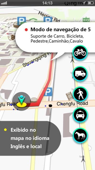 Screenshot for Líbano Mapa in Brazil App Store
