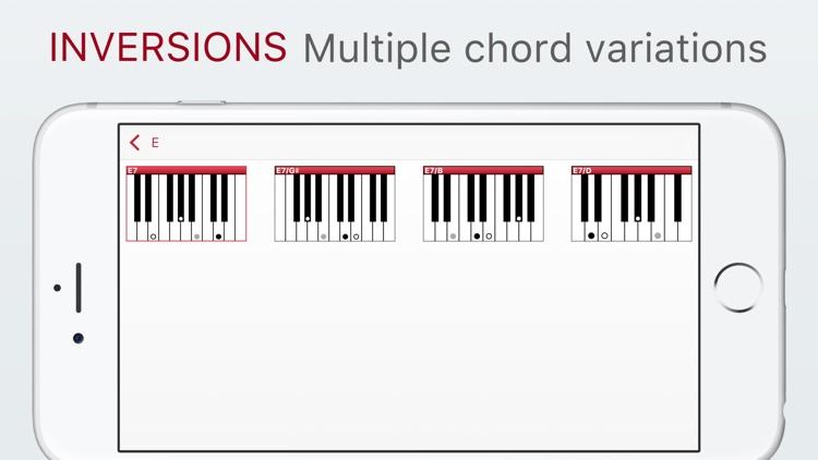 Piano Chords Assistant screenshot-3