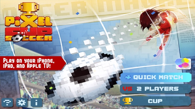 Pixel Cup Soccer FREE