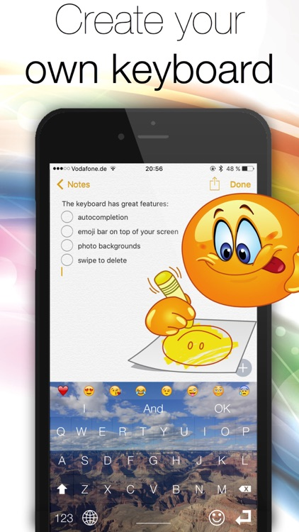 Chat Keyboard - Text and message faster! screenshot-3