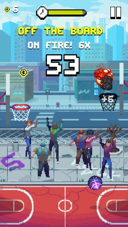 Bouncy Hoops screenshot-0