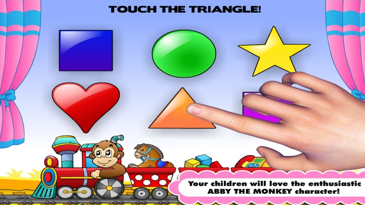 Shapes & Colors Learning Games for Toddlers / Kids