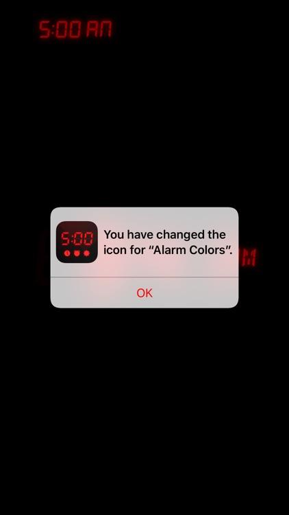 Alarm Clock Colors screenshot-0