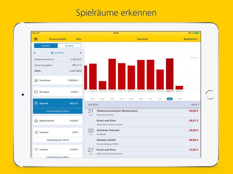 Postbank Finanzassistent iPad