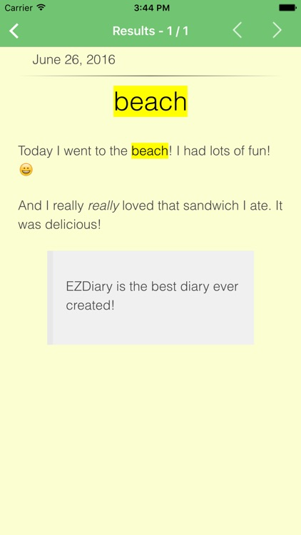 EZDiary - My Diary screenshot-4