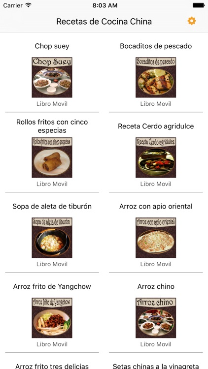 Recetas de Cocina China