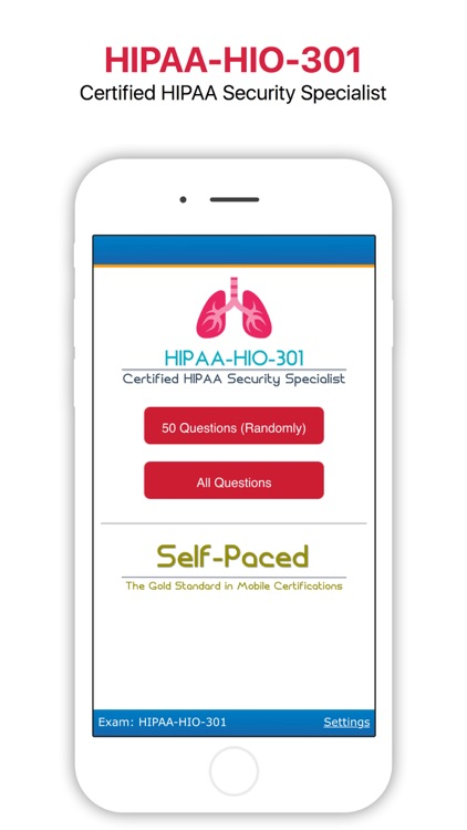 HIPAA-HIO-301 - Certification App by Self-Paced Software Development ...