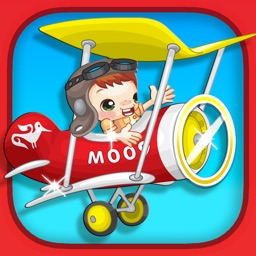 Biplane Racer for Kids - Airplane Flying Game