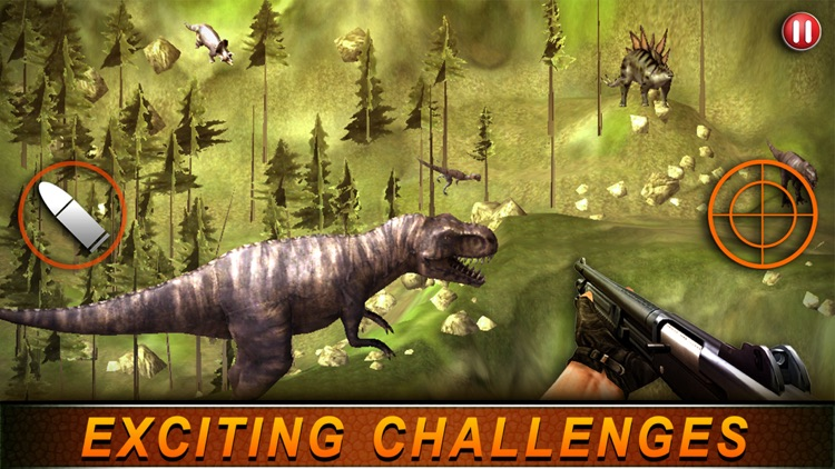 T-Rex Hunting Season 2016:Dino Hunter Survival Mission in Jurassic Island screenshot-4
