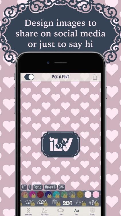 Horoscope Monogram Wallpaper screenshot-4
