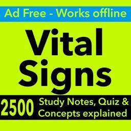 Vital Signs Exam : 2500 Quiz & Study Notes