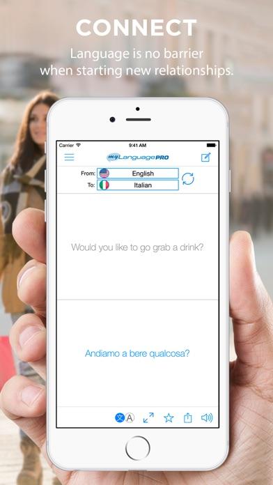 Screenshot for Translate Voice - Language Translator & Dictionary in Denmark App Store
