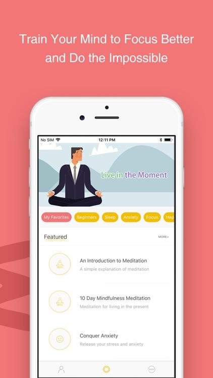 Now: Meditation screenshot-3