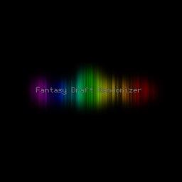 Fantasy Draft Randomizer