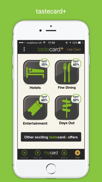 Tastecard | Restaurant Discounts | Dining Deals screenshot-3