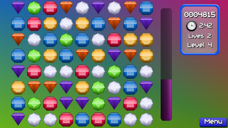 Jewel Match Jam : Pop and blast out 3 gems mania!Captura de pantalla de1