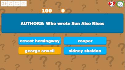 Quiz Your Art and Literature screenshot 2