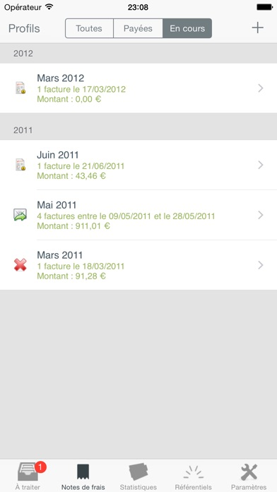 download Mes notes de frais Pro apps 2