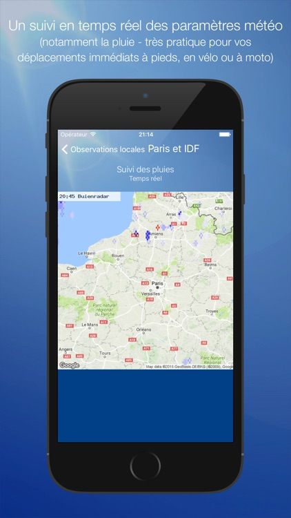 Météo Paris screenshot-3