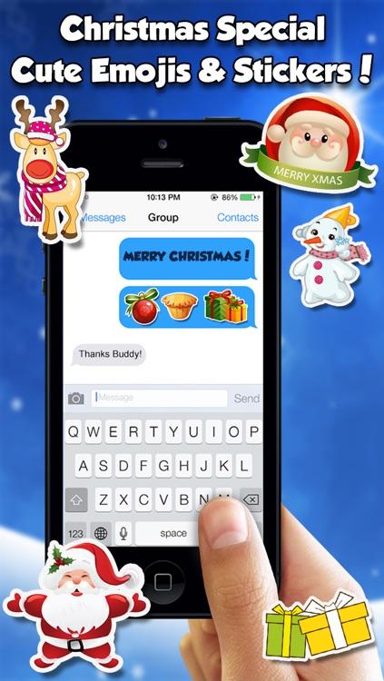 Christmas Emojis & Stickers
