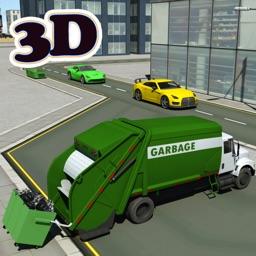 Garbage Truck Driving parking 3d simulator Game