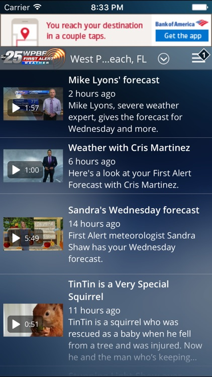 WPBF 25 First Alert Weather screenshot-4