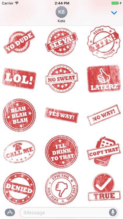 Stamp It Stickers screenshot-3