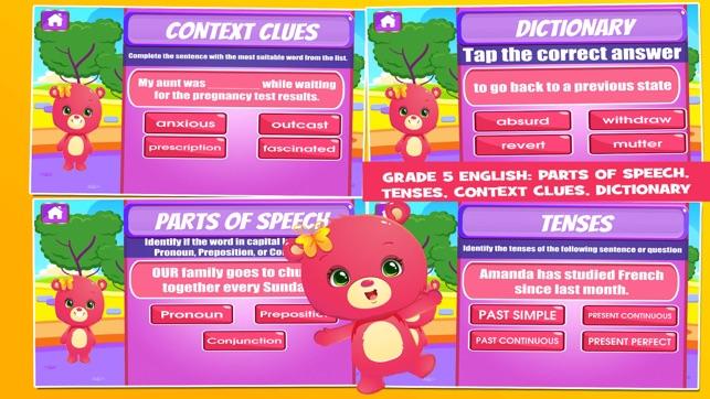 Bears Fifth Grade Educational Games School Edition