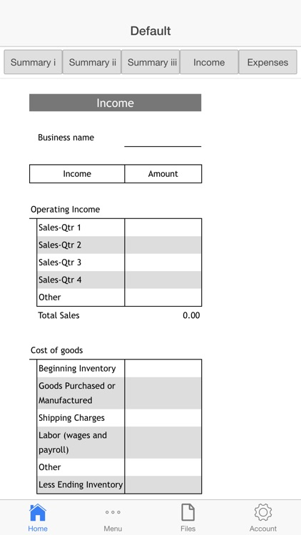 Goods Business Budget screenshot-4