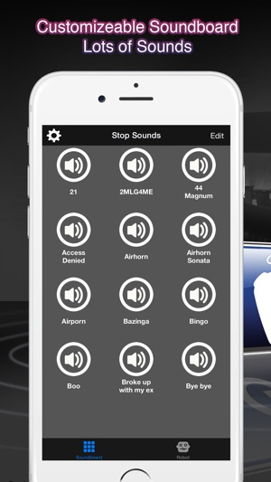 MLG Soundboard + Robot voice on the App Store