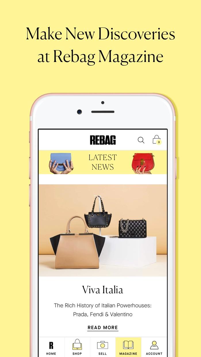 Rebag - Luxury Resale Screenshot