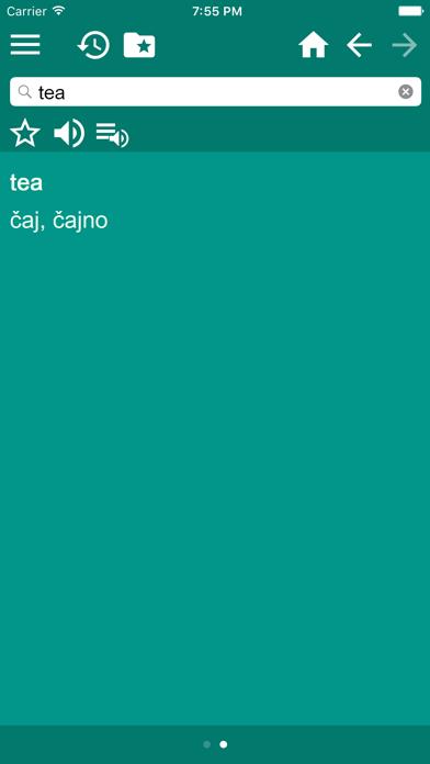 English Croatian Dictionary Free screenshot four