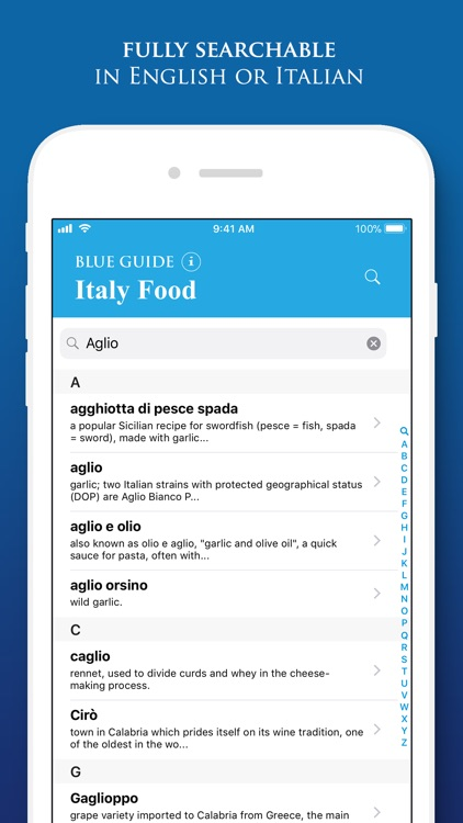 Italy Food by Blue Guides screenshot-4