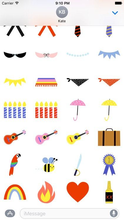 Emoji Pals - Accessory stickers