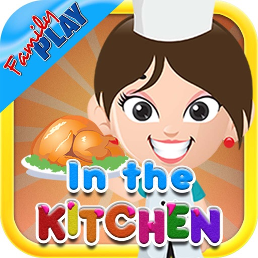 In the Kitchen Flash Cards for Kids iOS App