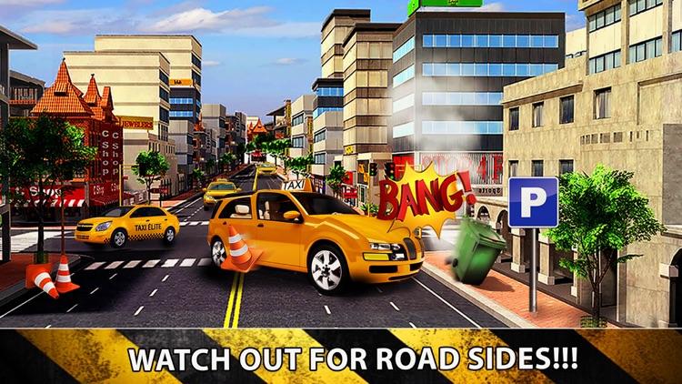 Taxi Cab Driver 2016 - Yellow Car Parking in New York City Traffic Simulator screenshot-4