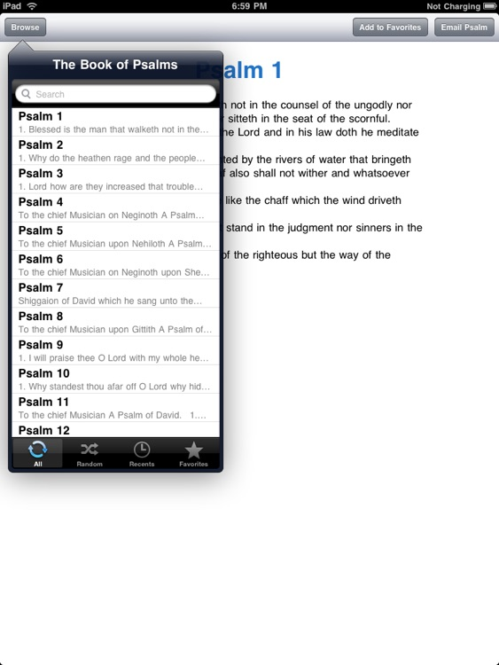 The Book of Psalms for iPad screenshot-0