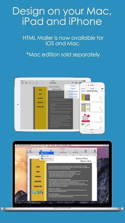 HTML Mailer - email and newsletter designer screenshot-4