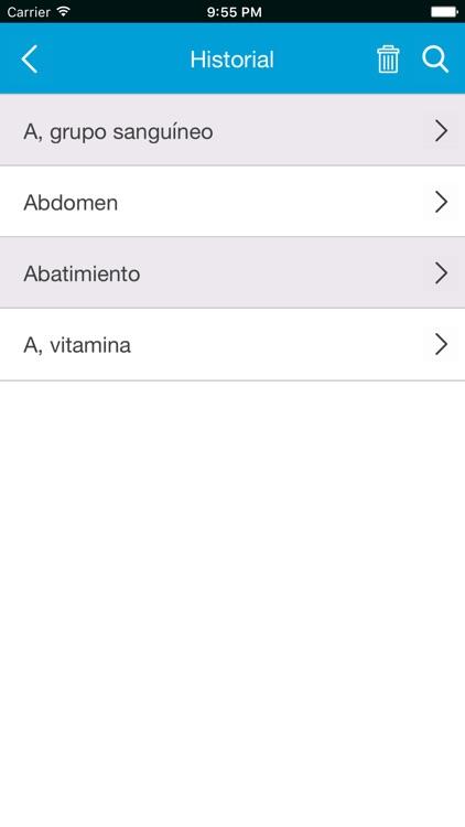 Diccionario médico screenshot-3